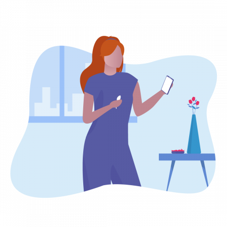 01-Woman-with-OvuSense-and-Phone